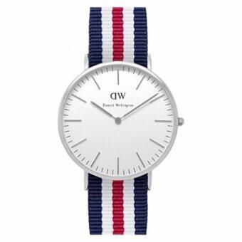 Daniel Wellington Mens Silver 0202DW Classic Oxford Analog Quartz Watch - intl