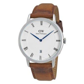 Daniel Wellington Mens Silver DW00100116 Classic Oxford Analog Quartz Watch - intl