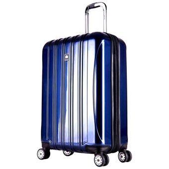 Delsey Helium Aero กระเป๋าเดินทาง ขนาด 28 นิ้ว ( 81 cm) ล้อลาก 4 ล้อ (Blue)