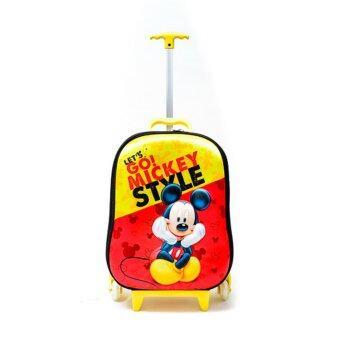 Disney กระเป๋าเดินทางปั๊มนูนมิกกี้เม้าส์ 18 นิ้ว