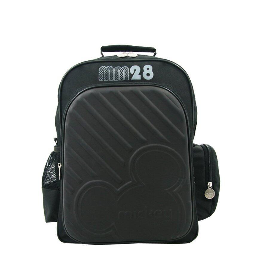 Disney กระเป๋าเป้16นิ้วMickey Mouse สีดำรุ่น62010