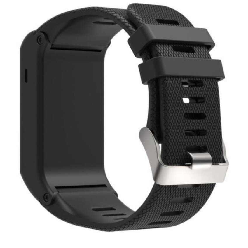 Factory price New Fashion Sports Silicone Bracelet Strap Band ForGarmin  vivoactive HR,BLACK – intl d2a2c331bb