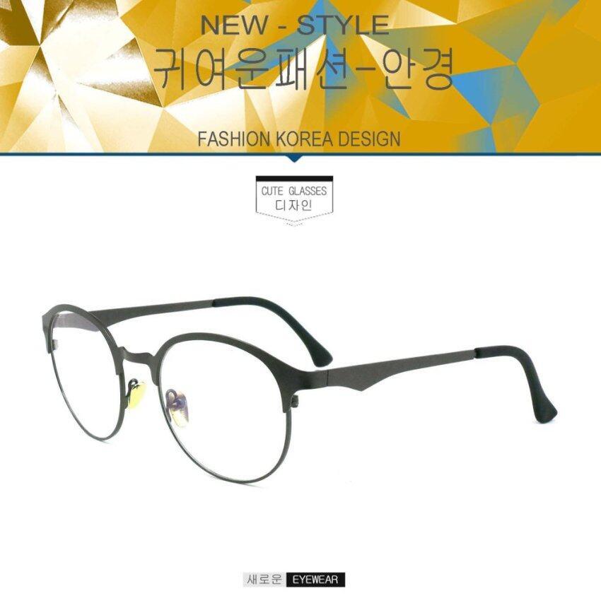 Fashion แว่นตากรองแสงสีฟ้า 9545 สีเทา ถนอมสายตา (กรองแสงคอม กรองแสงมือถือ) ...