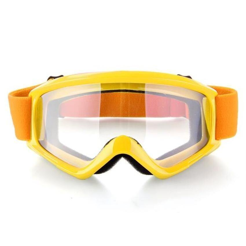 FSH Motorcycle Motocross ATV Helmet Anti Wind Eye Protection Glasses Goggle (Yellow)