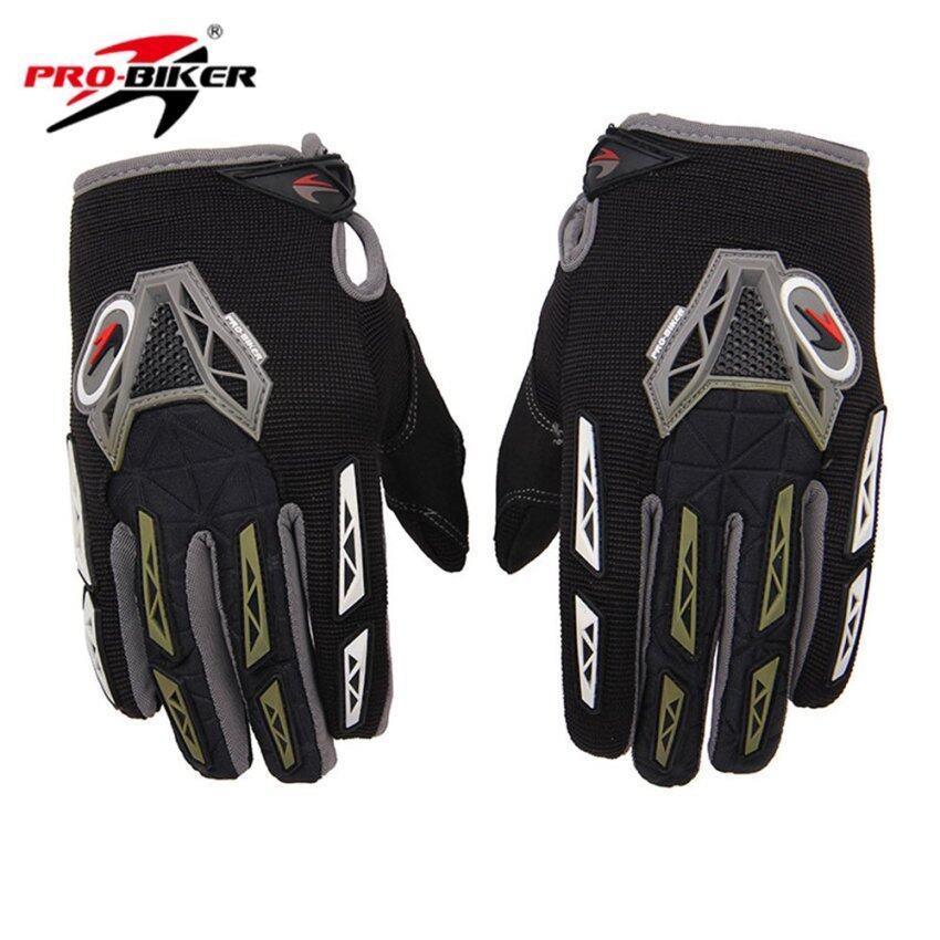Full Finger Motorcycle Gloves Moto Racing Gloves Grantes Motocross Gloves Motorbike off-road Protective Gear - Intl