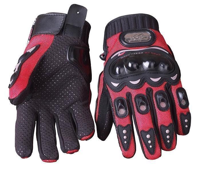 Full Finger Safety Bike Motorcycle Racing Gloves for Pro-biker MCS-01B Red XXL - intl