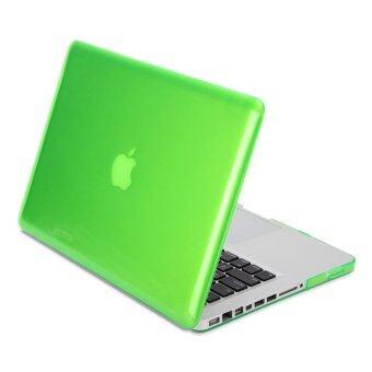 GMYLE เคส MacBook Pro 13 inch with CD-Drive เคสโปร่งใส (ไม่พอดีกับ MacBook Pro Retina 13) สีเขียว