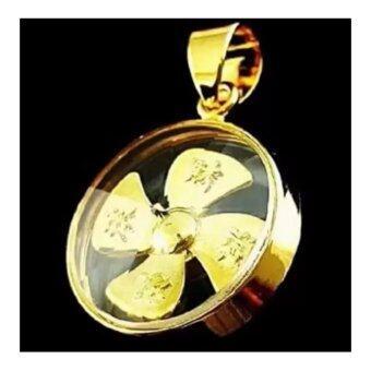 จี้กันหันนำโชค จี้กังหันแชกงหมิว จี้กังหันฮ่องกง นำโชคมั่งคั่ง(Gold) สีทอง