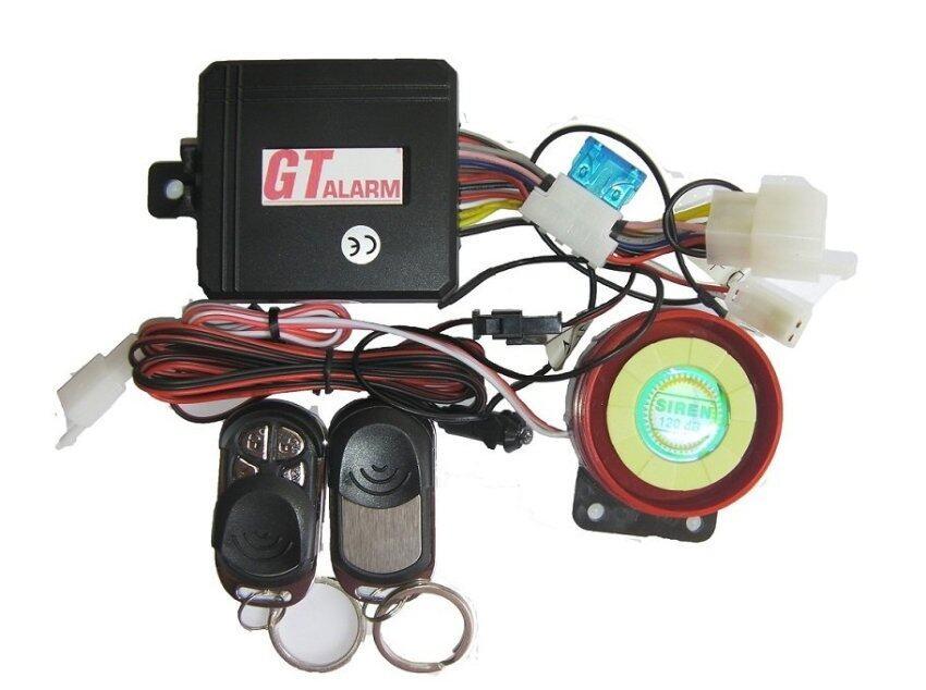 Gt-Alarmสัญญาณกันขโมยรถมอเตอร์ไซค์ PCX 150 รุ่นเก่า