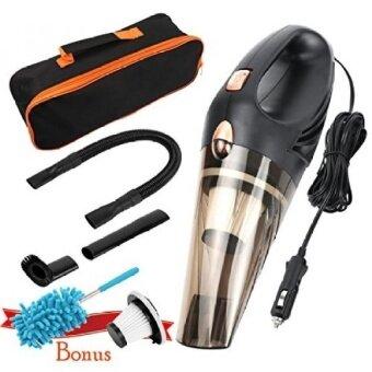 HonestEast Car Vacuum Cleaner DC 12-Volt 106W WetDry Portable Handheld Auto Vacuum Cleaner 16.4FT(5M) Power Cord with 2 HE - intl