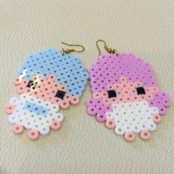 IndyKawaii Fashion Cute little-twin stars Earrings