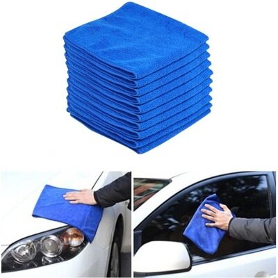 iTP ผ้าไมโครไฟเบอร์ Microfiber Cleaning Auto Car Detailing Soft Cloths Wash Towel Duster ...