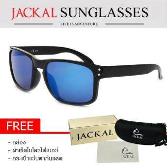 JACKAL แว่นตากันแดด รุ่น URBAN JS164 (Black/Blue Mirror ...