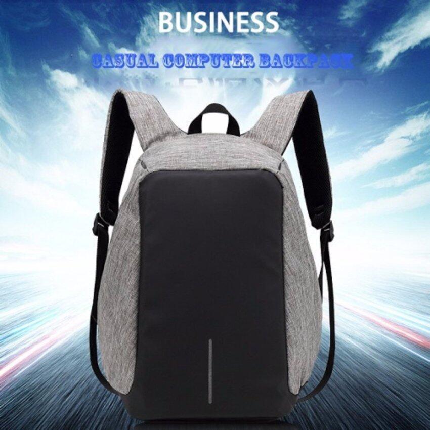 KAKA กระเป๋าเป้นิรภัยแล็ปท็อป Bobby Bag รุ่นK07 (สีเทา)