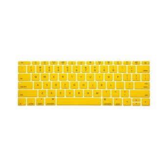Keyboard Protective Film 12 Inch for Apple Mac-book Air / Mac-book Pro US version (Yellow)