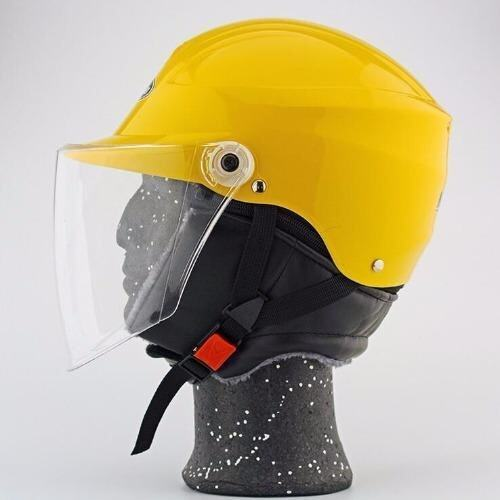 Lightweight Motorcycle Half Face Helmet(Yellow) - intl