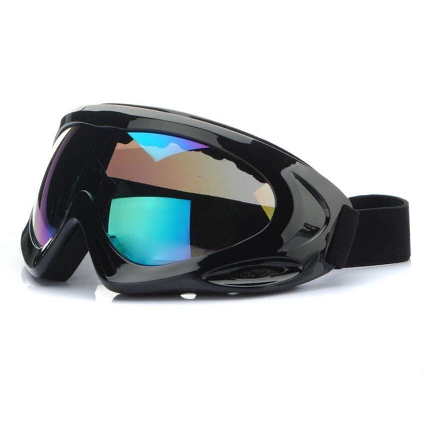Lvzhi Motorcycle Goggle Glasses Motocross BLACK For Honda Yamaha Suzuki Kawasaki CE - intl