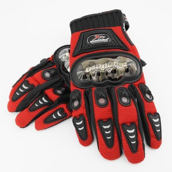 Madbike A-01S Half-finger Racing Gloves Red (Intl) - intl
