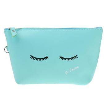 MagiDeal Fashion Cosmetic Makeup Purse Wash Bag Organizer Pouch Pencil Case Bag Ey - intl