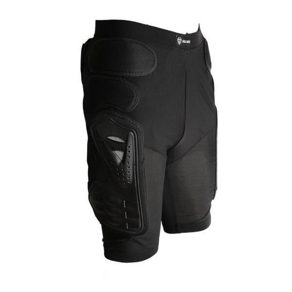 MagiDeal Motorcycle Bike Padded Hip Protector Body Armour Cycle Shorts Black L - intl