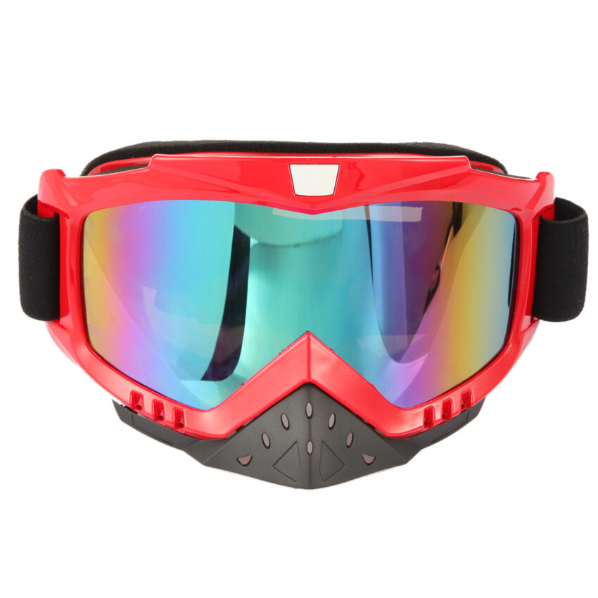 MEGA Motorcycle ATV Dirt Bike Racing Dirt Bik Anti-UV Ski Skiing GogglesGlasses - Intl