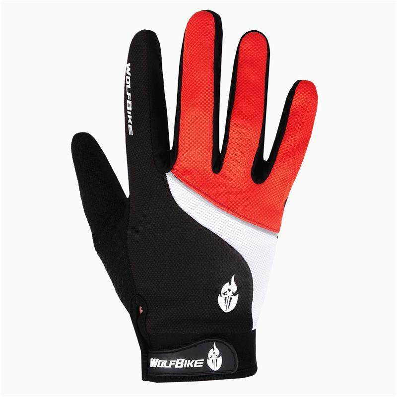 Men motorcycle gloves Comfortable and breathable Full Finger gloves size M - XL 3 color