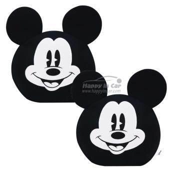 Mickey Mouse ที่หุ้มหัวเบาะรถยนต์ Classic Mickey (แพคคู่)