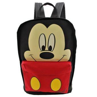 Mickey Mouse กระเป๋าสะพาย สกรีนลายMickey Mouse (สีดำ)
