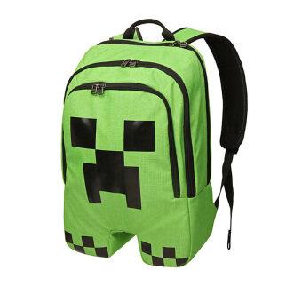 Minecraft backpack Zipper Travel Bags Book Bag School Students Pack Bag - Intl