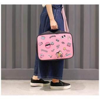 mothercarebag กระเป๋าเดินทาง กระเป๋าจัดระเบียบ กระเป่าสัมภาระ (ชมพู)