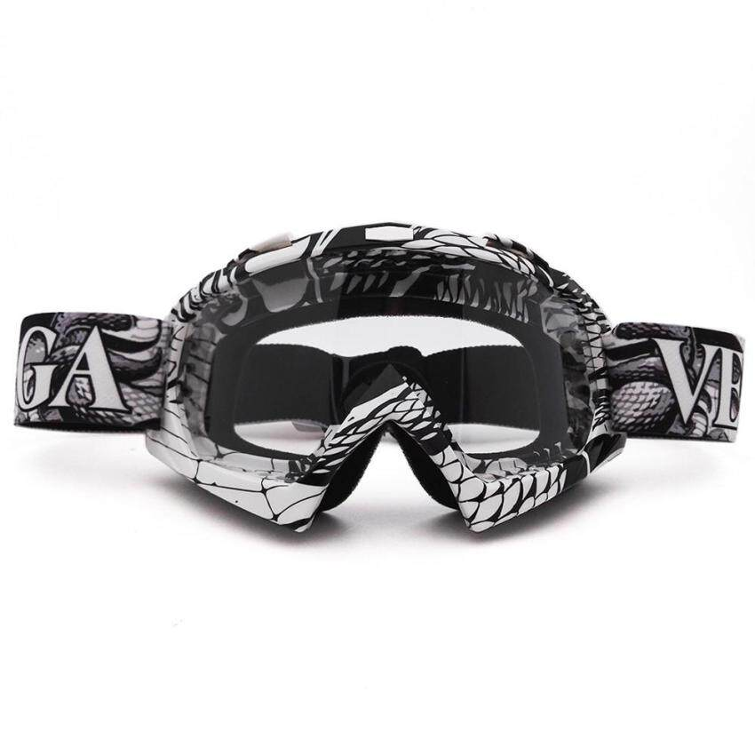 Motocross Goggles Cross Country Skis Snowboard ATV Mask Oculos Gafas Motocross Motorcycle Helmet MX Goggles Spectacles (QL036 +Clear) - intl