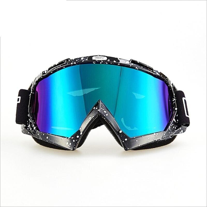 Motorcycle Glasses Racer Anti - twist Anti - Wrestling Goggles Ski Goggles - intl
