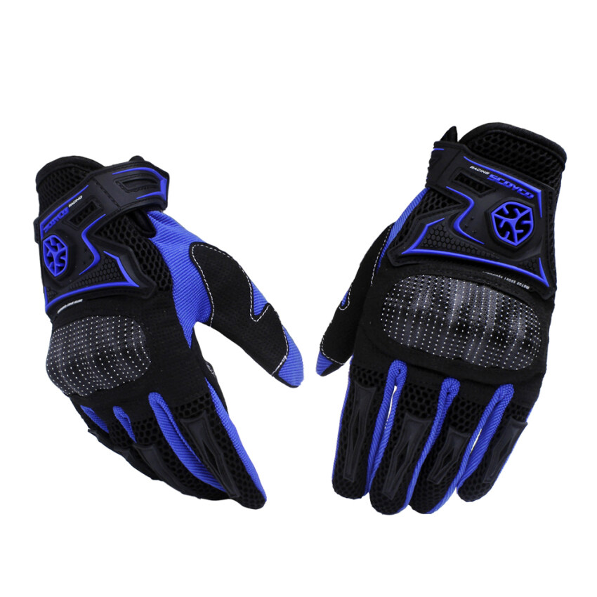 Motorcycle Gloves Off-road Racing Gloves Drop Resistance Guantes Breathable Gloves Moto Luvas Alpine Motocross Stars Size L - intl