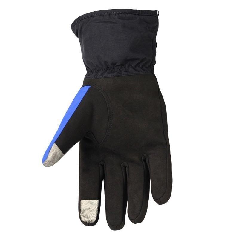 Motorcycle Gloves Winter Waterproof cold warm ski gloves anti-fall locomotive gloves - intl