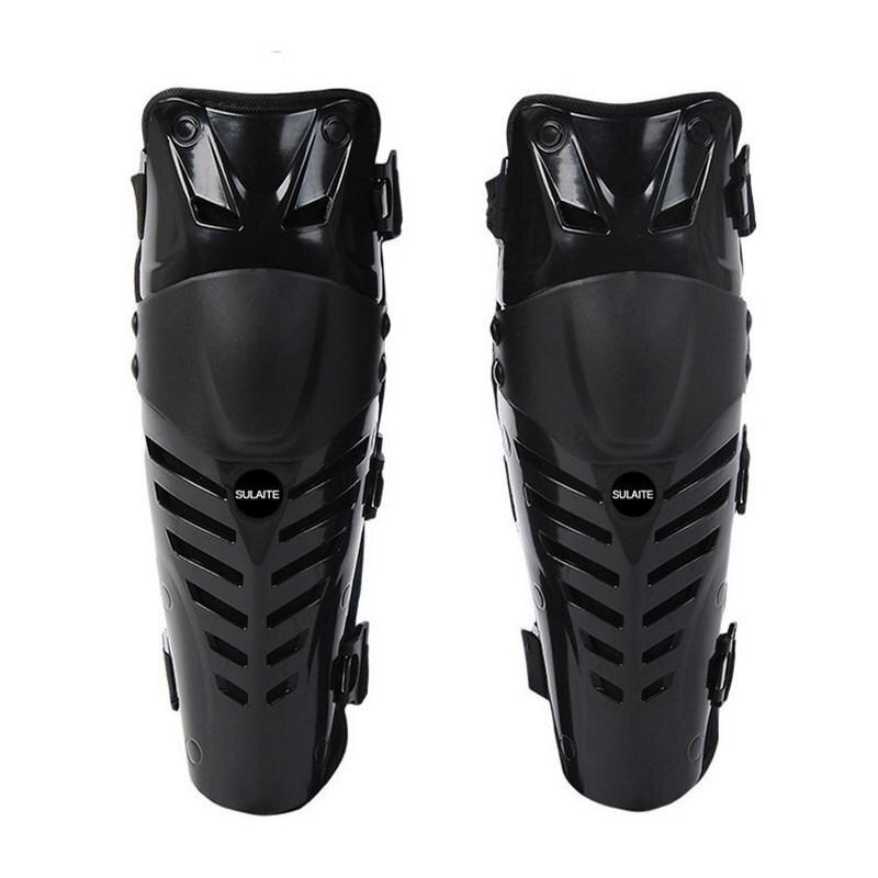 Motorcycle Knee Pads Racing Protective Gear (Black) - intl