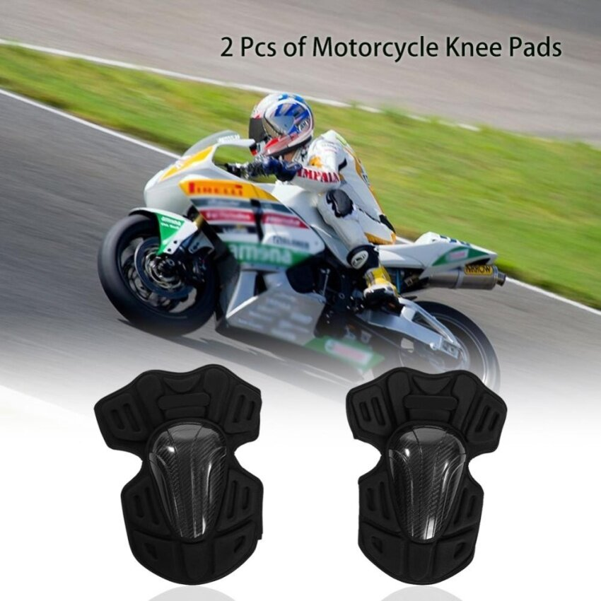 Motorcycle Motocross Knee Pads Breathable Kneelet Knee Brace Protective Armor Set - intl