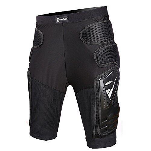 Motorcycle Motocross Racing Ski Armor Pads Sports Hips Legs Protective Pants Hockey Knight Gear