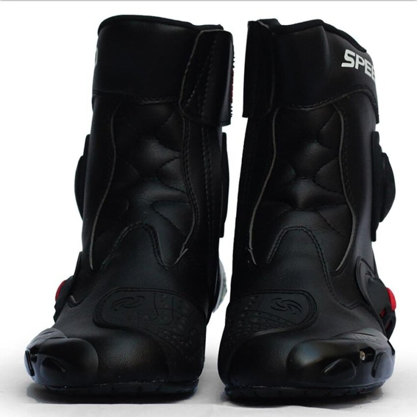 Motorcycle shoes Motorcycle boots (red size 45) - intl