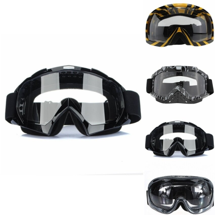 Motorcycle Sports Goggles Glasses Snow Board Scooter ATV Ski Motocross Dirt Bike