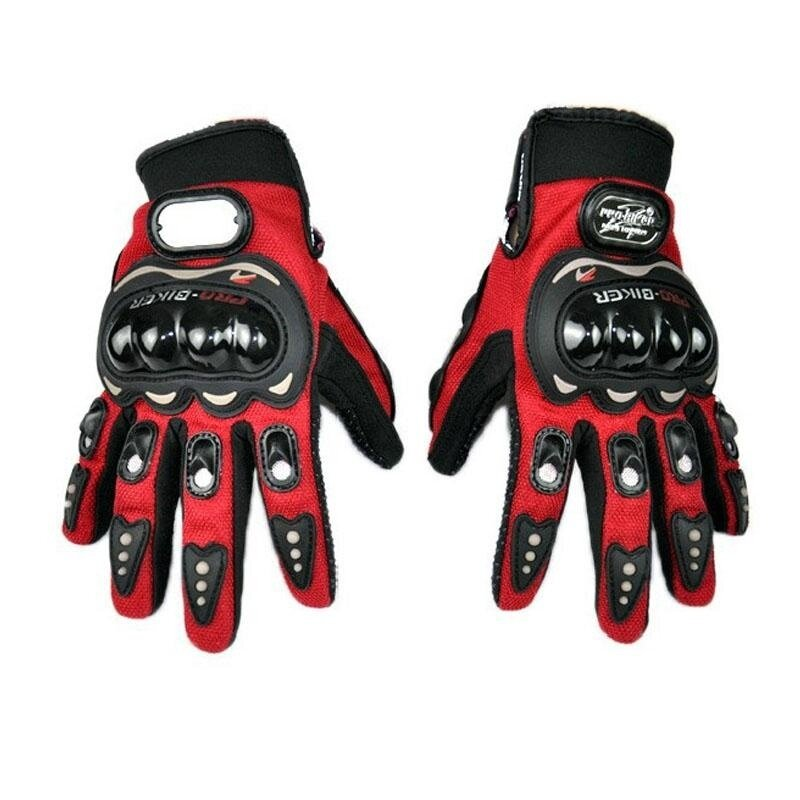 ขาย Motorcycles Full Finger Men Motorcycle Gloves Accessories Parts Protective Gears Gloves For Motorcyclists Size M - intl