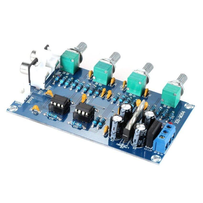NE5532 Stereo Pre-amp Preamplifier Tone Amplifier Board Audio 4 Channels - intl