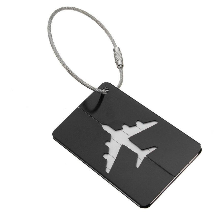 New Aluminium Travel Luggage Baggage Tag Suitcase Identity Address Name Labels ...