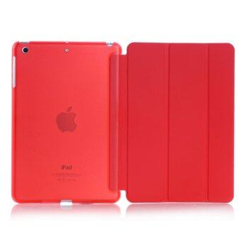 New iPad 2017 iPad 9.7 inch / Ipad Air (ipad 5) case, Welink Ultra Slim Smart Cover PU Leather Case for Ipad Air (ipad 5) / New iPad 2017 iPad 9.7 inch (Red)