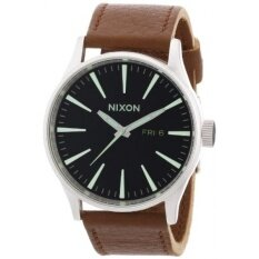Nixon A105-1037 Mens Sentry Black Saddle Watch - intl