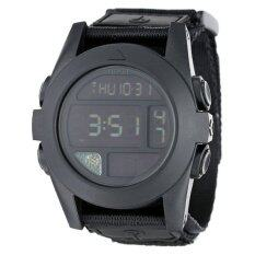 Nixon Baja Digital Black Polycarbonate Mens Watch A489001 - Intl image