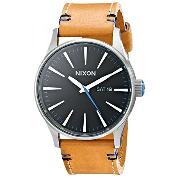 Nixon Sentry Leather Watch - intl