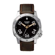 Nixon Watch Brown Stainless-Steel Case Stainless-Steel Bracelet Mens Watch NWT + Warranty A508019-0 image