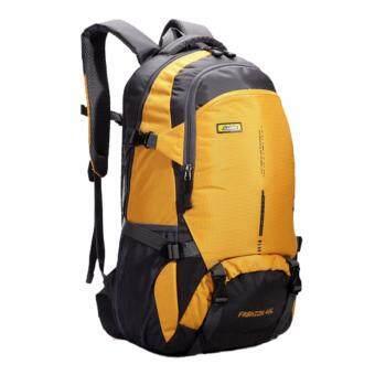 NL04YE สีเหลือง กระเป๋าเดินทาง กระเป๋าสะพายหลัง กระเป๋าเป้เดินทาง กระเป๋าเป้ผู้ชาย กระเป๋าเป้เท่ๆ กระเป๋าสัมภาระ กระเป๋าไนลอนกันน้ำ backpack