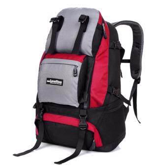 NL16RE สีแดง กระเป๋าเดินทาง กระเป๋าสะพายหลัง กระเป๋าเป้เดินทาง กระเป๋าเป้ผู้ชาย กระเป๋าเป้เท่ๆ กระเป๋าสัมภาระ กระเป๋าไนลอนกันน้ำ backpack