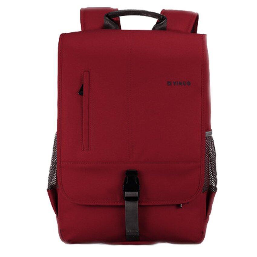 กระเป๋าเป้สะพายโน๊ตบุ๊ค กันน้ำ (notebook bag) (สีแดง)